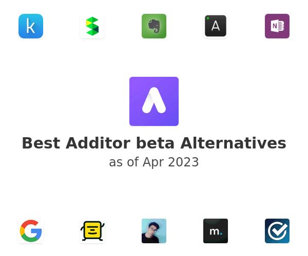 Best Additor beta Alternatives
