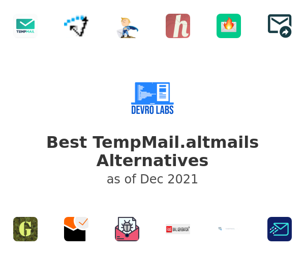 Best TempMail.altmails Alternatives