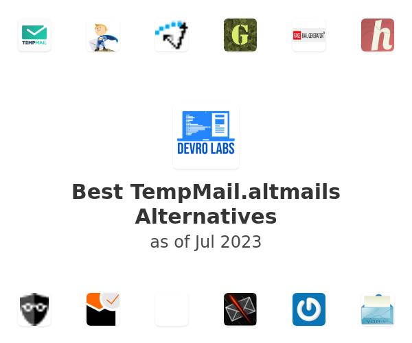 Best TempMail.altmails Alternatives