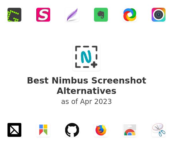Best Nimbus Screenshot Alternatives
