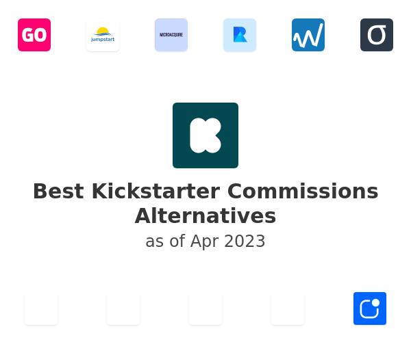 Best Kickstarter Commissions Alternatives
