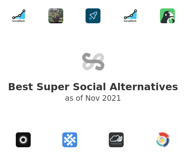 Best Super Social Alternatives