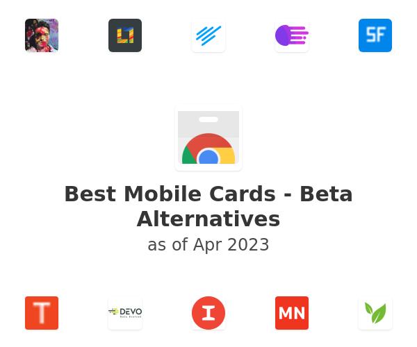 Best Mobile Cards - Beta Alternatives
