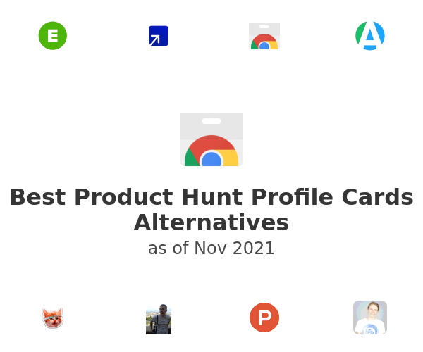 Best Product Hunt Profile Cards Alternatives