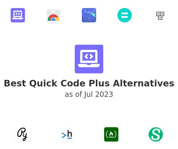 Best Quick Code Plus Alternatives