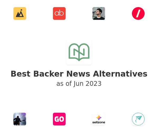 Best Backer News Alternatives
