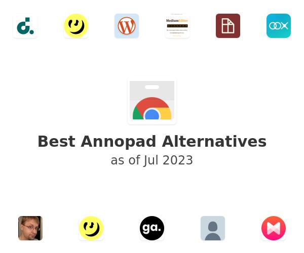 Best Annopad Alternatives