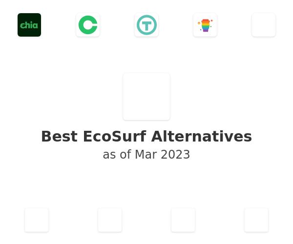 Best EcoSurf Alternatives