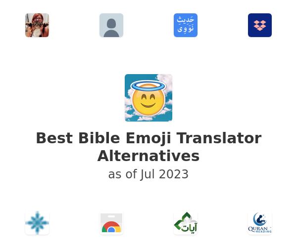 Best Bible Emoji Translator Alternatives