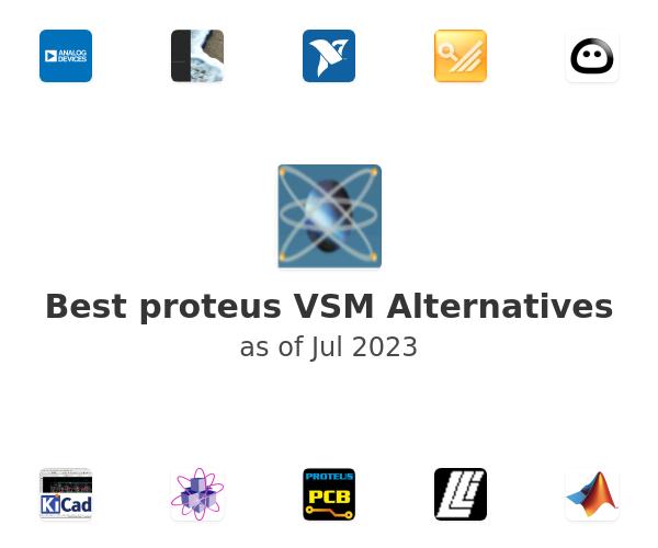 Best proteus VSM Alternatives