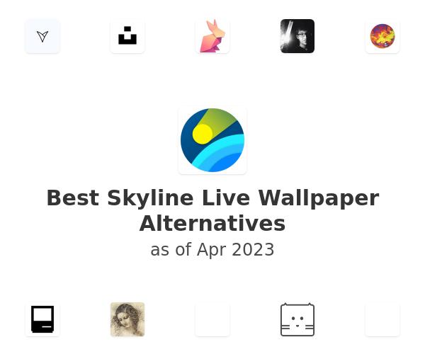Best Skyline Live Wallpaper Alternatives