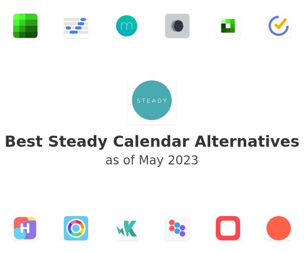 Best Steady Calendar Alternatives