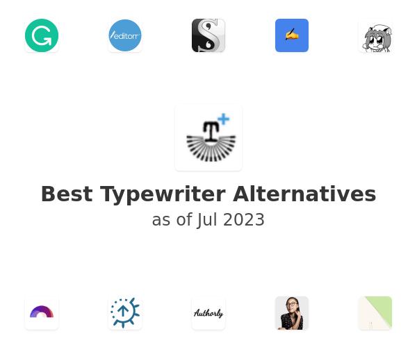 Best Typewriter Alternatives