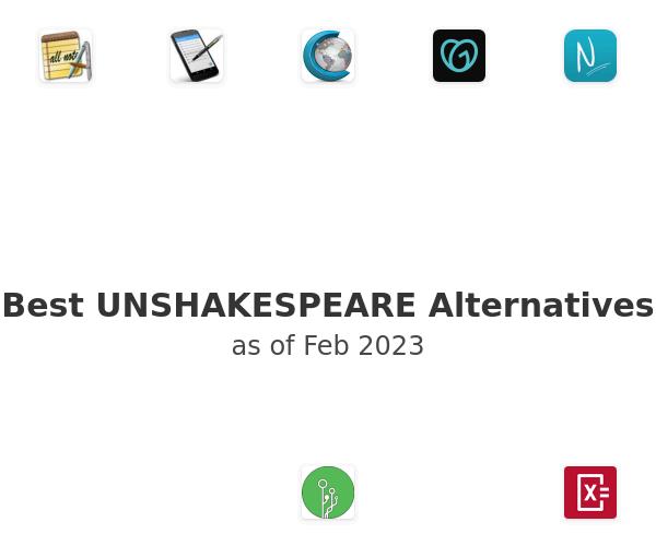 Best UNSHAKESPEARE Alternatives