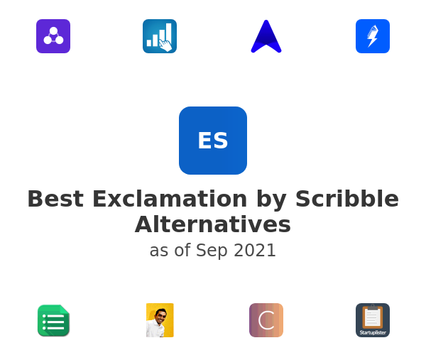 Best Exclamation by Scribble Alternatives