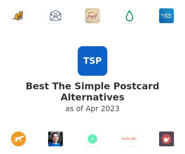 Best The Simple Postcard Alternatives