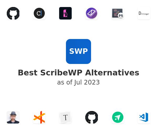 Best ScribeWP Alternatives