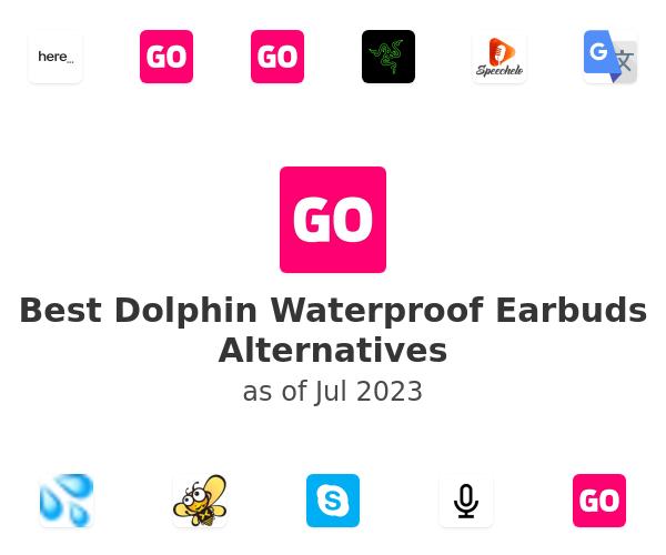 Best Dolphin Waterproof Earbuds Alternatives