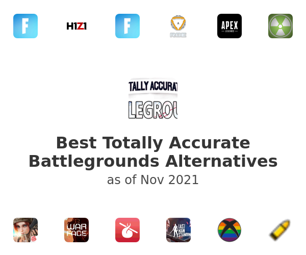 Best Totally Accurate Battlegrounds Alternatives
