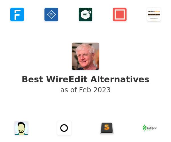 Best WireEdit Alternatives