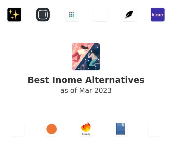 Best Inome Alternatives