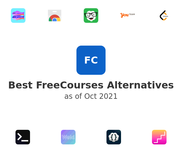 Best FreeCourses Alternatives