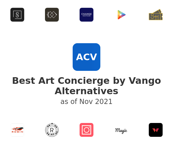 Best Art Concierge by Vango Alternatives