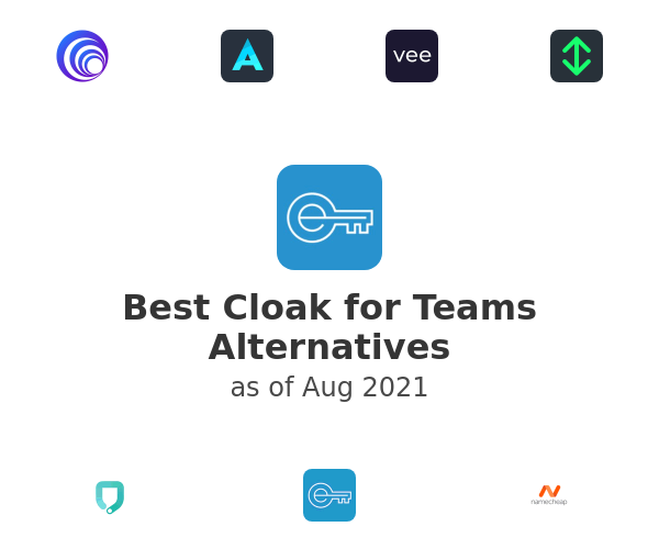 Best Cloak for Teams Alternatives