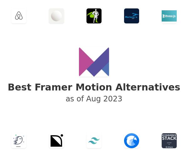 Best Framer Motion Alternatives