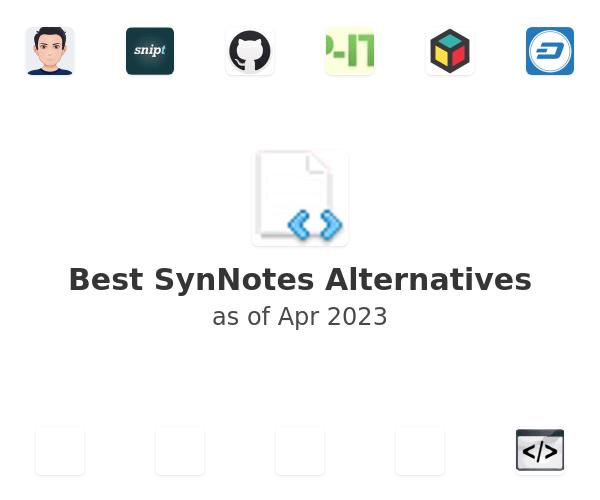 Best SynNotes Alternatives