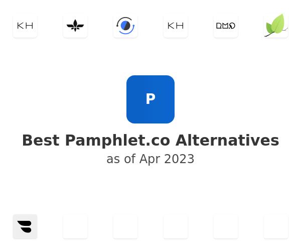 Best Pamphlet Alternatives