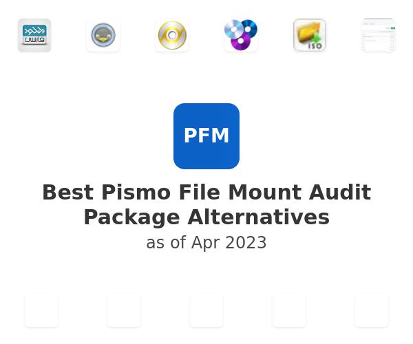 Best Pismo File Mount Audit Package Alternatives