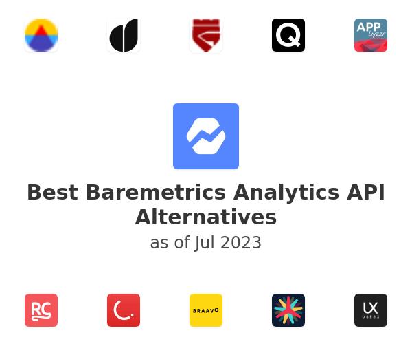 Best Baremetrics Analytics API Alternatives