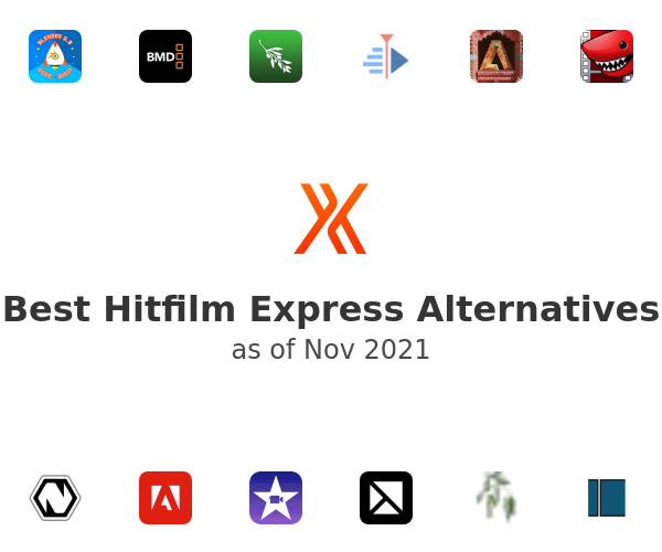 Best Hitfilm Express Alternatives