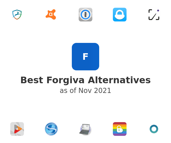 Best Forgiva Alternatives