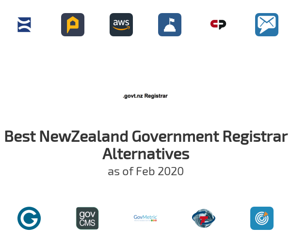 Best NewZealand Government Registrar Alternatives