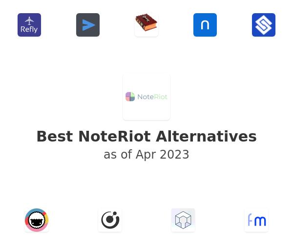 Best NoteRiot Alternatives