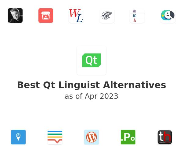 Best Qt Linguist Alternatives