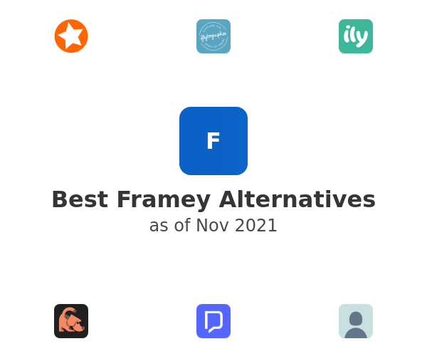 Best Framey Alternatives