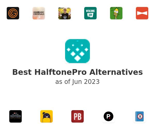 Best HalftonePro Alternatives