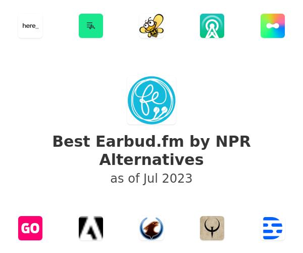 Best Earbud.fm by NPR Alternatives