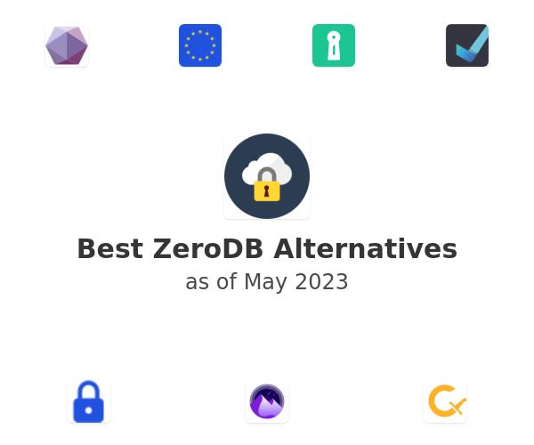 Best ZeroDB Alternatives