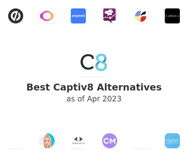 Best Captiv8 Alternatives