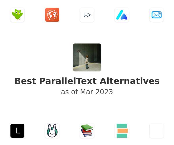 Best ParallelText Alternatives