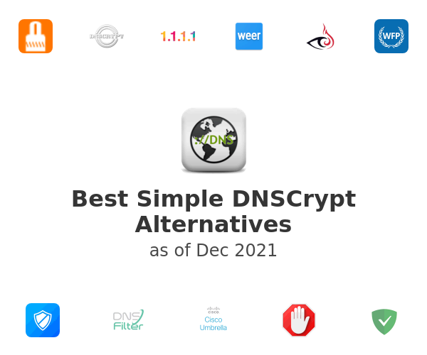 Best Simple DNSCrypt Alternatives
