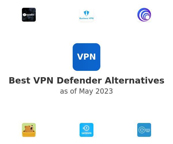 Best VPN Defender Alternatives