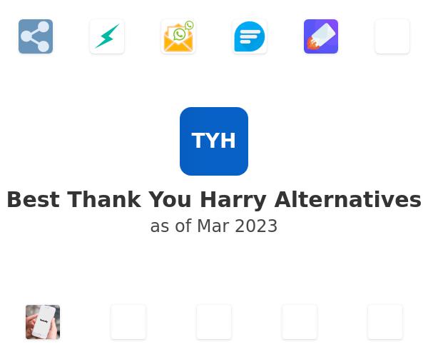 Best Thank You Harry Alternatives