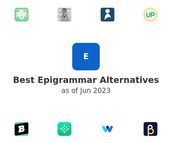 Best Epigrammar Alternatives