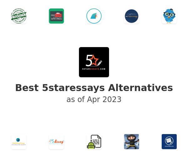 Best 5staressays Alternatives
