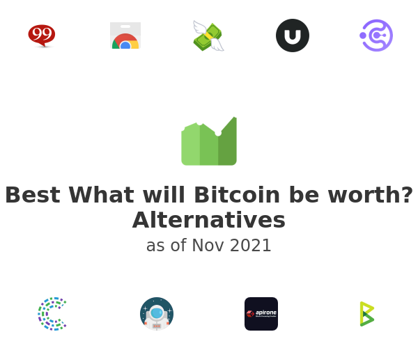 Best What will Bitcoin be worth? Alternatives